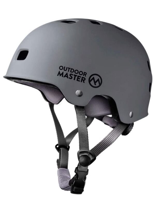 OutdoorMaster Skateboard Cycling Helmet - ASTM & CPSC Certified Size Medium