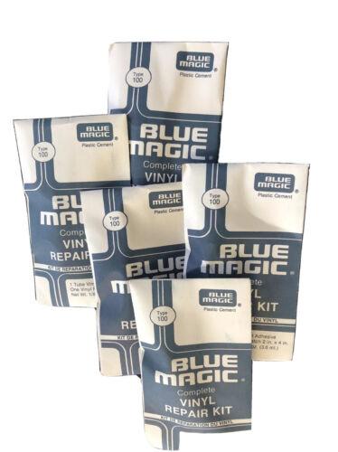 5 Blue Magic WATERBED PATCH KITS-Vinyl Mattress Repair FREE