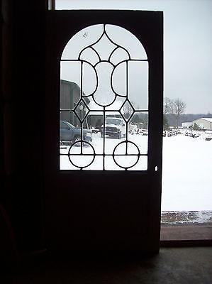 Leaf textured Center panel window (SG 1410)