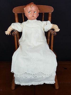 Antique Doll EFFANBEE GRUMPY 1915 14-INCH DOLL-COMPOSITION-MARKED 176 DARLING