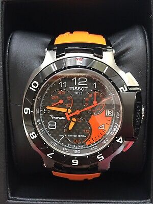LIMITED EDITION TISSOT T-RACE MOTO GP - Excellent Condition - Orange with Papers