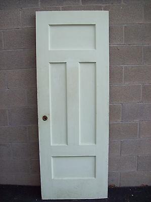 Two Single Door (Single OAK painted door one two one (CM 10) )