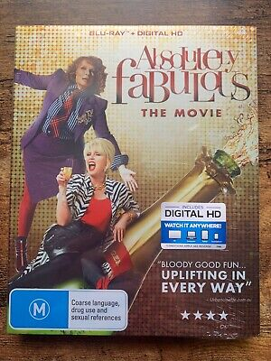 The Absolutely Fabulous - Movie (Blu-ray, 2016) NEW