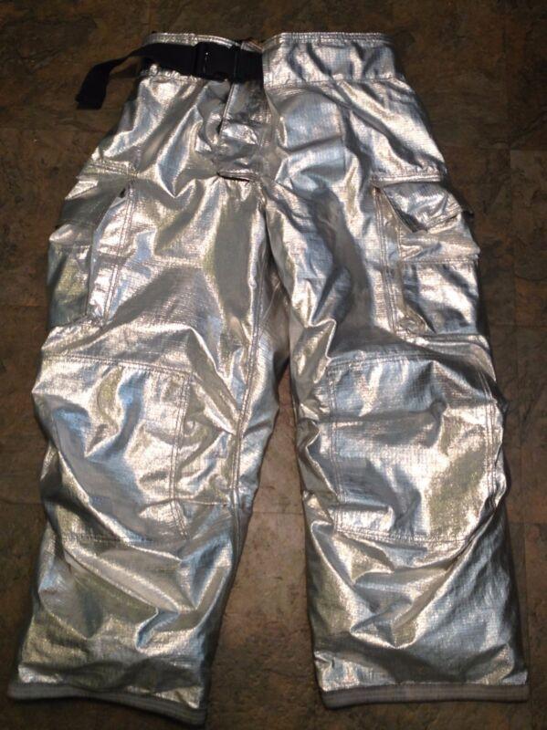 GLOBE GXTREME ALUMINIZED PBI Firefighter Turnout Pants Size 42 x 30