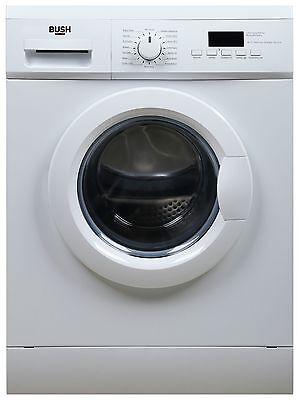 Bush WMNSN841W 8KG 1400 Spin LED Washing Machine - White.