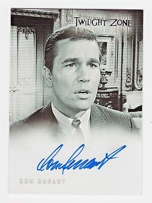 2005 Twilight Zone Science and Superstition Autographs A70 Don Durant