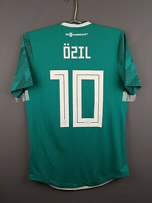 e42a265d 5/5 Ozil Germany authentic jersey small 2019 shirt BR3143 soccer Adidas ig93