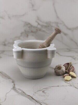 Mortero de marmol Blanco macael 17 cm