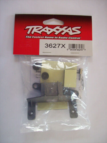Traxxas #3627X Grey Battery & Receiver Hold Down with Posts, Spacers and Clips
