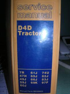 CAT D4D tractor service manual Northam Northam Area Preview