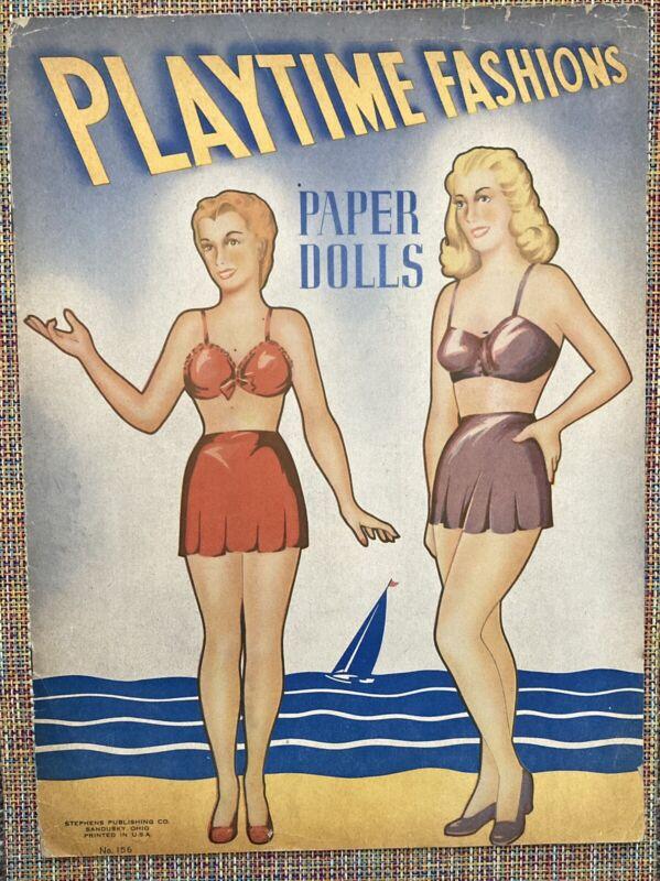 PLAYTIME FASHIONS:  Rare 1940