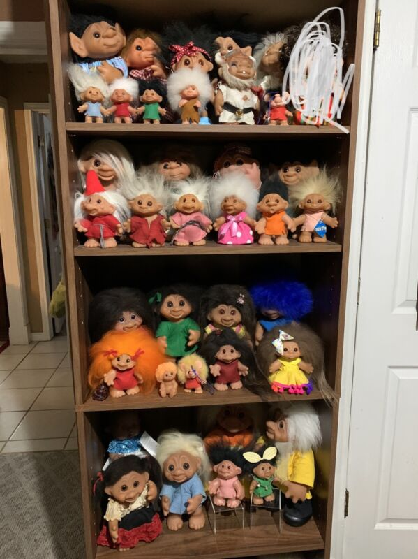 41 piece Dam Troll Lot  INSTANT COLLECTION
