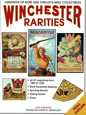 Winchester Advertising Calendars Artwork Signs Window Displays / Book + Values
