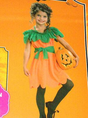 NEW Girl Halloween costume ~ New children Pumpkin Princess dress L 10 -12 (Halloween Costumes Pumpkin Princess)