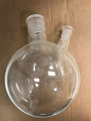 Hs Martin Son Boiling Flask W 2 Necks Chemistry Lab Glassware