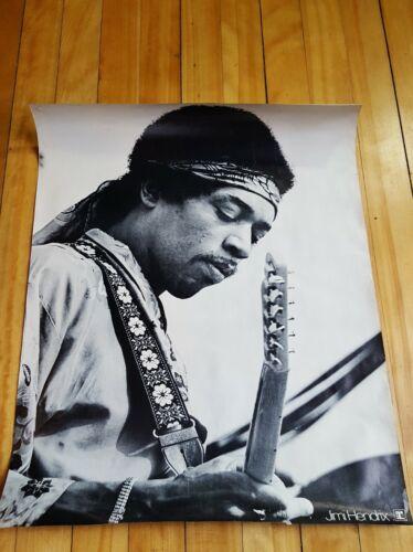 1969 Jimi Hendrix Warner Bros Woodstock ORIGINAL Poster 21 x 26.75 Scarce