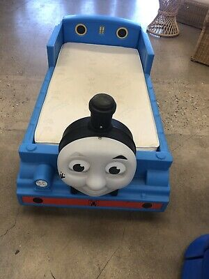 Blue Thomas The Train Bed Frame Thomas The Tank Engine Toddler Bed Step2