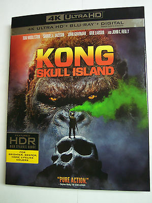 Kong  Skull Island W Slipcover  4K Ultra Hd  Blu Ray  Digital