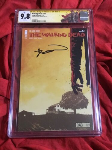 CGC SS 9.8~THE WALKING DEAD #193~1st PRINT~FINAL ISSUE~SIGNED BY ROBERT KIRKMAN~
