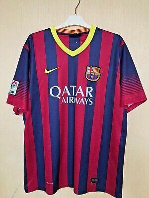 74bcc9ad8 FC BARCELONA 20132014 FOOTBALL JERSEY CAMISETA SOCCER MAGLIA SHIRT  11  NEYMAR