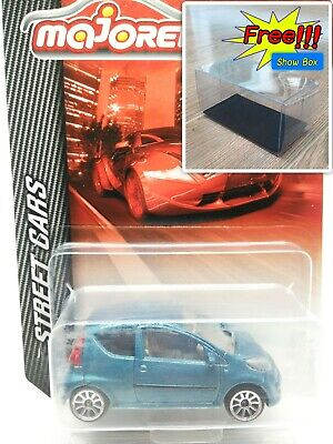 Majorette Citroen C1 Metallic Blue Diecast 1:55 254H Free Display Box, used for sale  Shipping to Canada