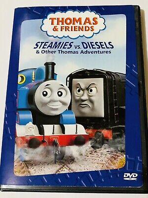 THOMAS & FRIENDS STEAMIES VS DIESELS DVD 2004