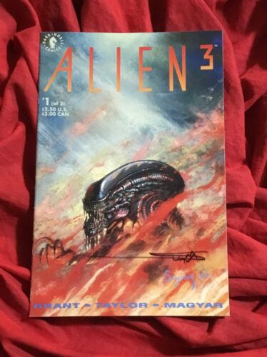 ALIEN 3 #1~SIGNED BY ARTHUR SUYDAM~DARK HORSE COMICS BOOK~B