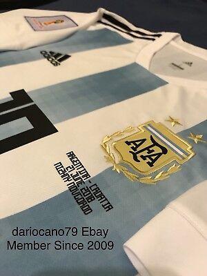 ARGENTINA MESSI SOCCER JERSEY WORLD CUP RUSSIA 2018 vs CROATIA BARCELONA MEXICO  image