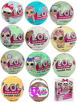 Lol Surprise Pets Series 3 Wave 2 Pick 1 Doll Ball 100 Authentic New