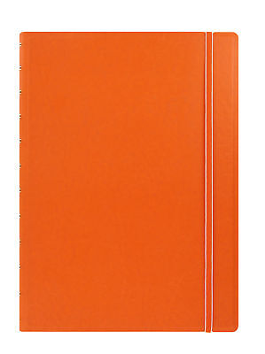 Filofax - A4 Classic Notebook Orange Refillable for sale  Shipping to Ireland