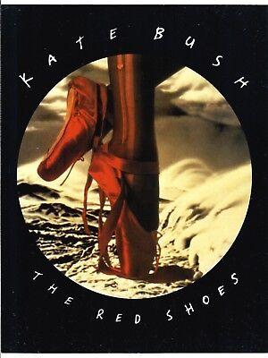 "Kate Bush 1993 ""The Red Shoes"" Columbia Promotional Handbill Original"