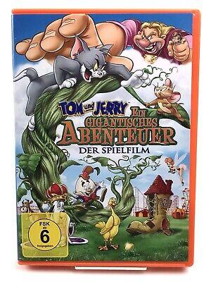 DVD • Tom & Jerry - Ein gigantisches Abenteuer (2014) #K48