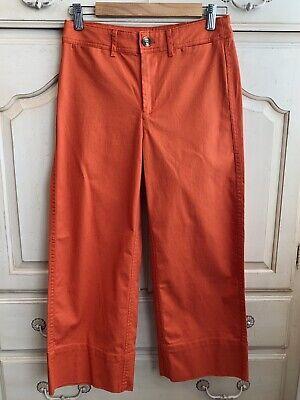 J Crew Mercantile Orange Crop Wide Leg Pants Size 0