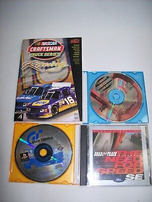 Racing Games PS1 & PC Need for speed SE Gran Turismo Nascar Truck- Free - Truck Racing Games