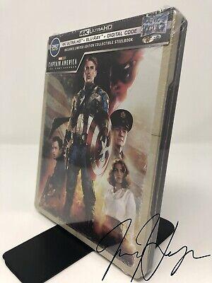 Captain America: The First Avenger SteelBook (4K Ultra HD + Blu-ray + Digital)