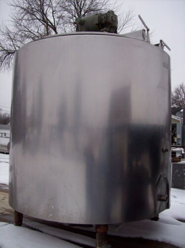 DAMROW 600 Gallon Stainless Jacketed Processor Steam Kettle with Agitation