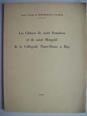 histoire Huy collégiale Notre-Dame saint Mengold Domitien archéologie TBE Liège