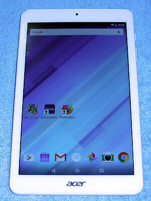 Acer Iconia One 8 Tablet B1-850 - Storage 16GB - White - Used