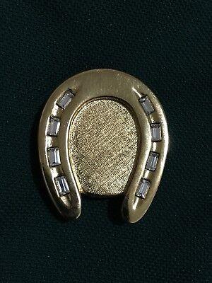 Estee Lauder Compact - Golden Horseshoe 2013, empty