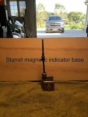 Starrett Magnetic Base 657