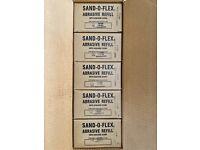 Merit Sand-O-Flex 550A Or 350R 320 Grit Abrasive  Refill New
