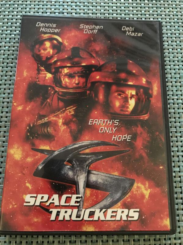 Space Truckers (1996, DVD, Stuart Gordon, Dennis Hopper) Rare OOP Horror Comedy