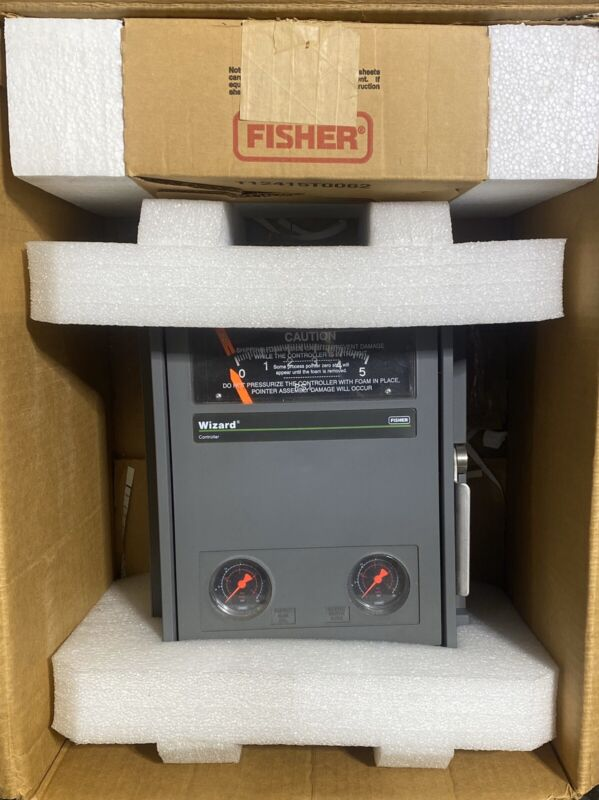 Fisher Wizard Controller 4195kb NEW IN BOX