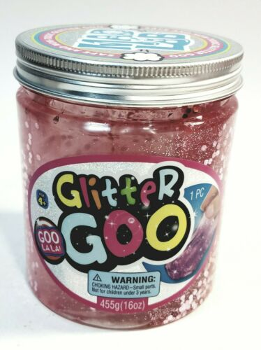Ja-Ru Inc, Mad Lab Glitter Goo Light Pink