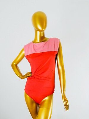 COLORA STRING BODY BY WOLFORD RED PINK SMALL COLOUR BLOCKING