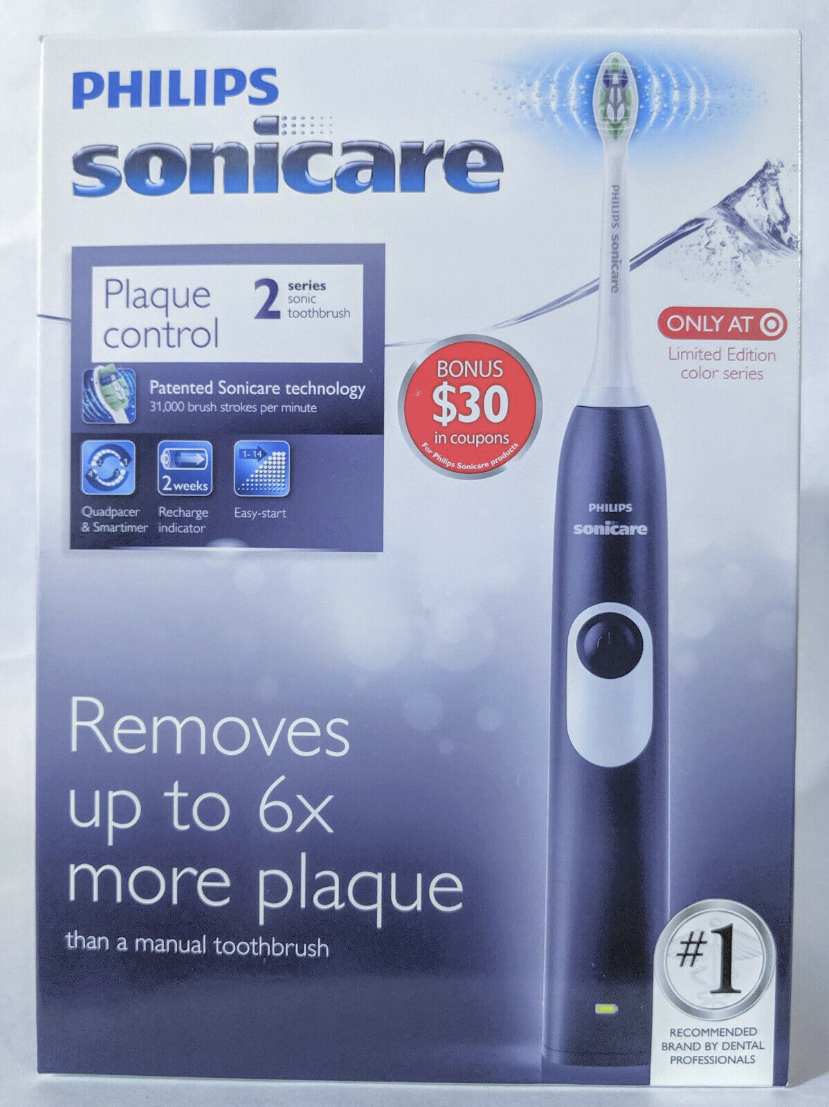Philips Sonicare HX6211/92 2 Series  Rechargeable Electric T