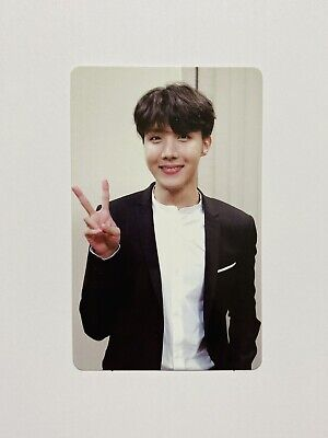 [US SELLER] BTS - Official Hoseok / J HOPE Memories of 2018 Photocard