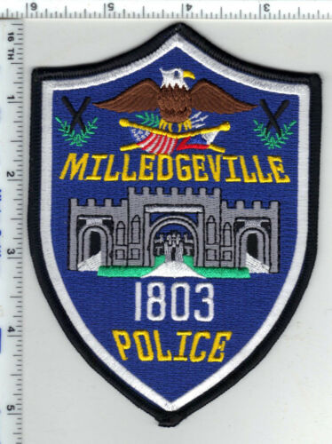 Milledgeville Police (Georgia) Shoulder Patch - new
