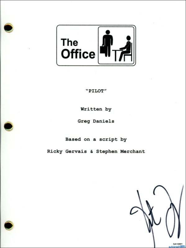 """Kate Flannery """"The Office"""" AUTOGRAPH Signed Full Pilot Episode Script ACOA"""