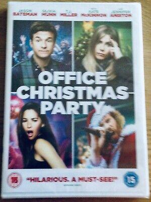 Office Christmas Party DVD (2017) Jennifer Aniston, Jason Bateman